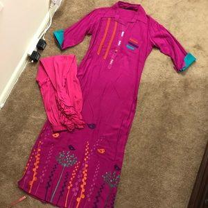 Dresses & Skirts - Pakistani Indian designer kurta kameez 2 piece set